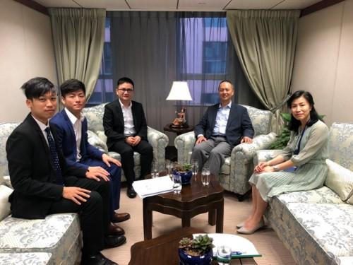 中華青年民族學習交流營參訪澳基高教辦